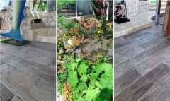 『究極の床面』 景観コンクリート舗装<マットスタンプ>