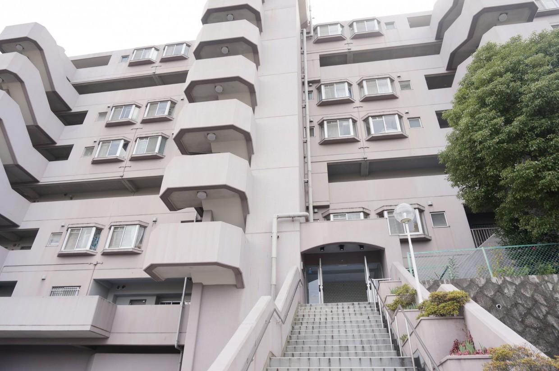 【外観】1980年築のマンションです。
